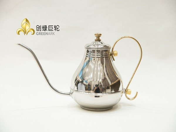 Silver Oil Can Stainless Steel Cooking Tools for Teppanyaki Restaurant